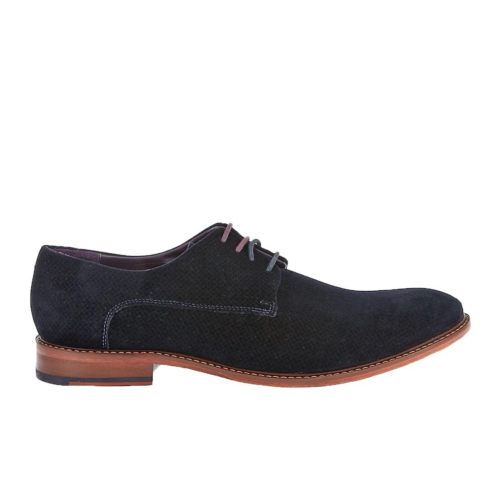TED BAKER - Ανδρικά δετά παπούτσια Ted Baker μαύρα-μπλε ανδρικά παπούτσια δετά επίσημα