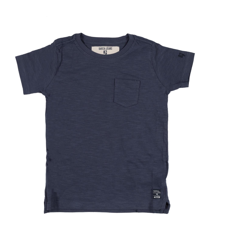GARCIA JEANS - Αγορίστικη κοντομάνικη μπλούζα Tonio μπλε