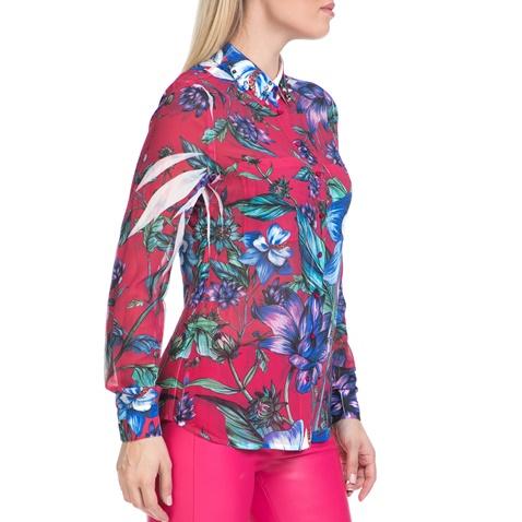 9ad9aa9c4b89 Γυναικείο πουκάμισο CLOUIS GUESS ροζ-εμπριμέ (1484499.0-4513 ...