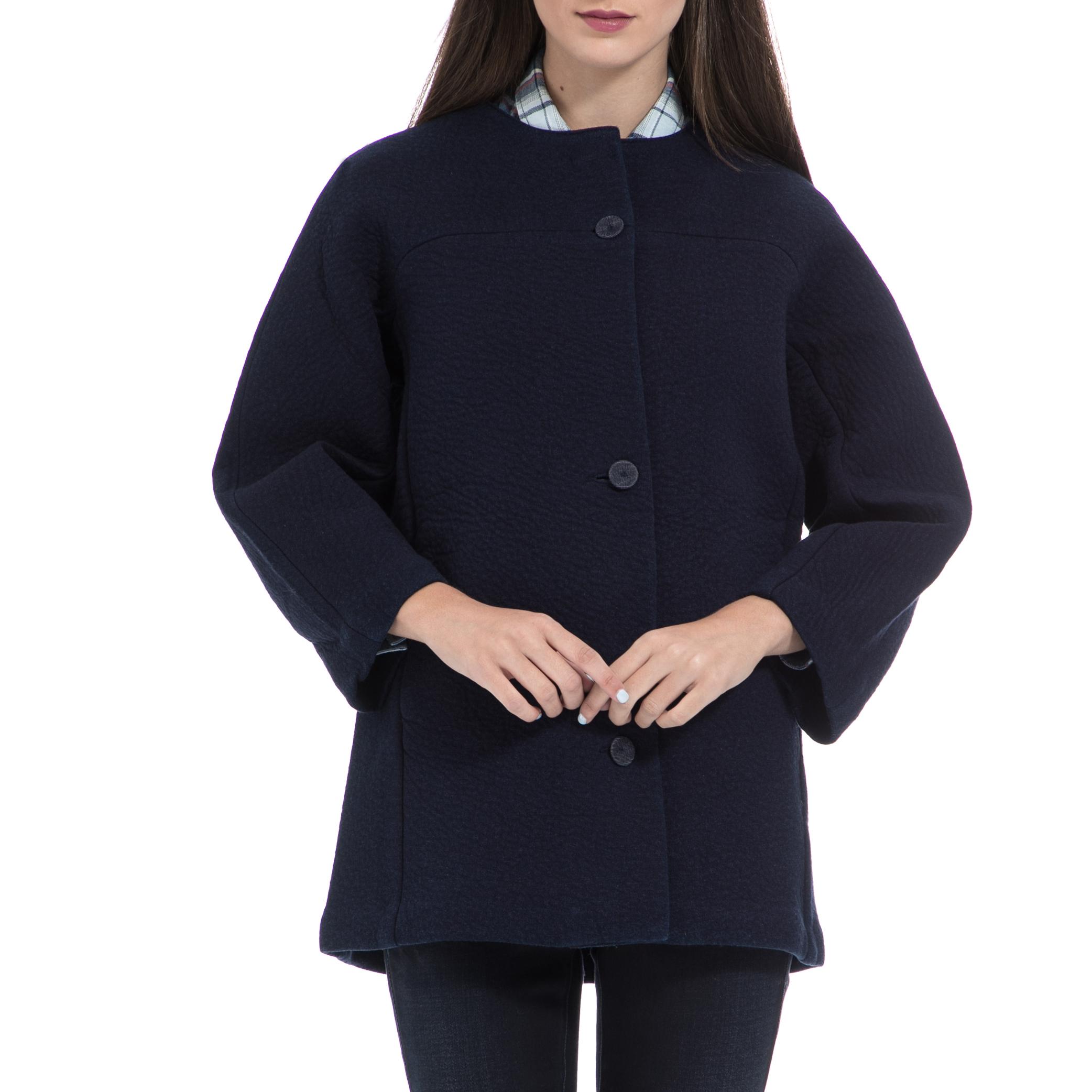 GUESS – Γυναικείο παλτό GUESS μπλε. Κατάστημα  Factory Outlet Έκπτωση  40%  Τιμή  85 7a672a97530