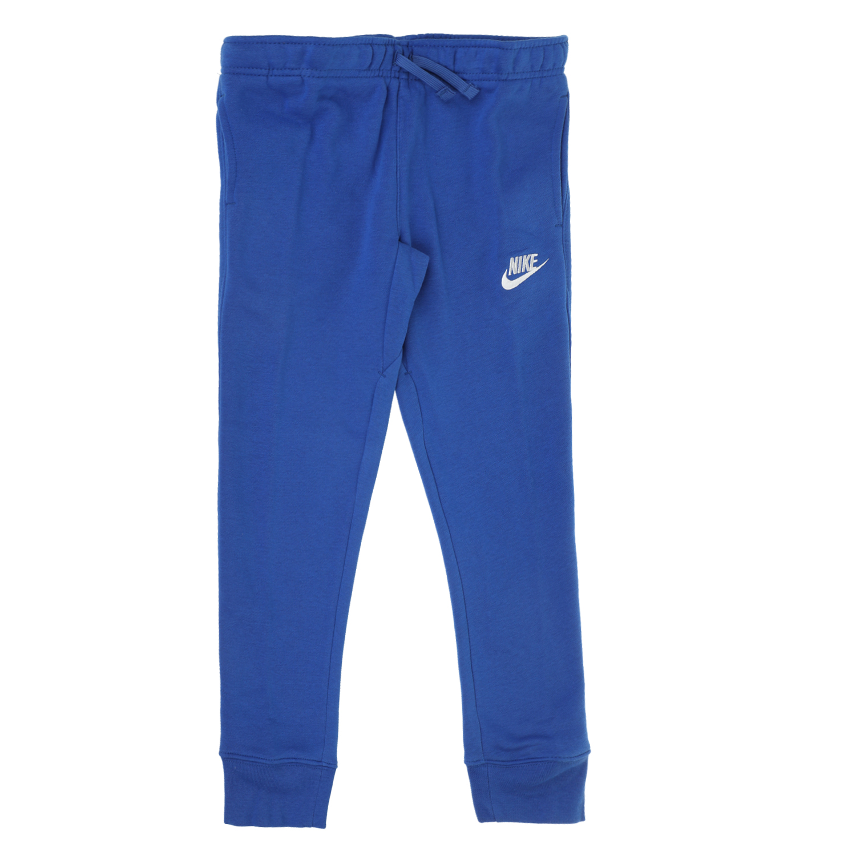 NIKE KIDS - Αγορίστικο παντελόνι φόρμας NIKE KIDS CLUB FLEECE RIB μπλε