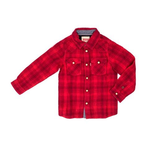 LEVIS KID'S-Παιδικό πουκάμισο LEVI'S KIDS κόκκινο