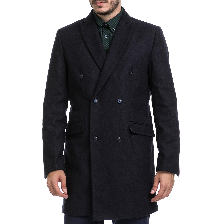 SSEINSE - Ανδρικό παλτό SSEINSE μπλε ανδρικά ρούχα πανωφόρια παλτό