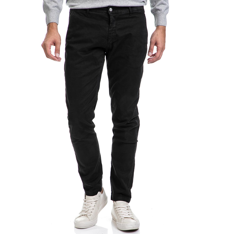 SSEINSE - Ανδρικό παντελόνι AMERICA SSEINSE μαύρο ανδρικά ρούχα παντελόνια chinos