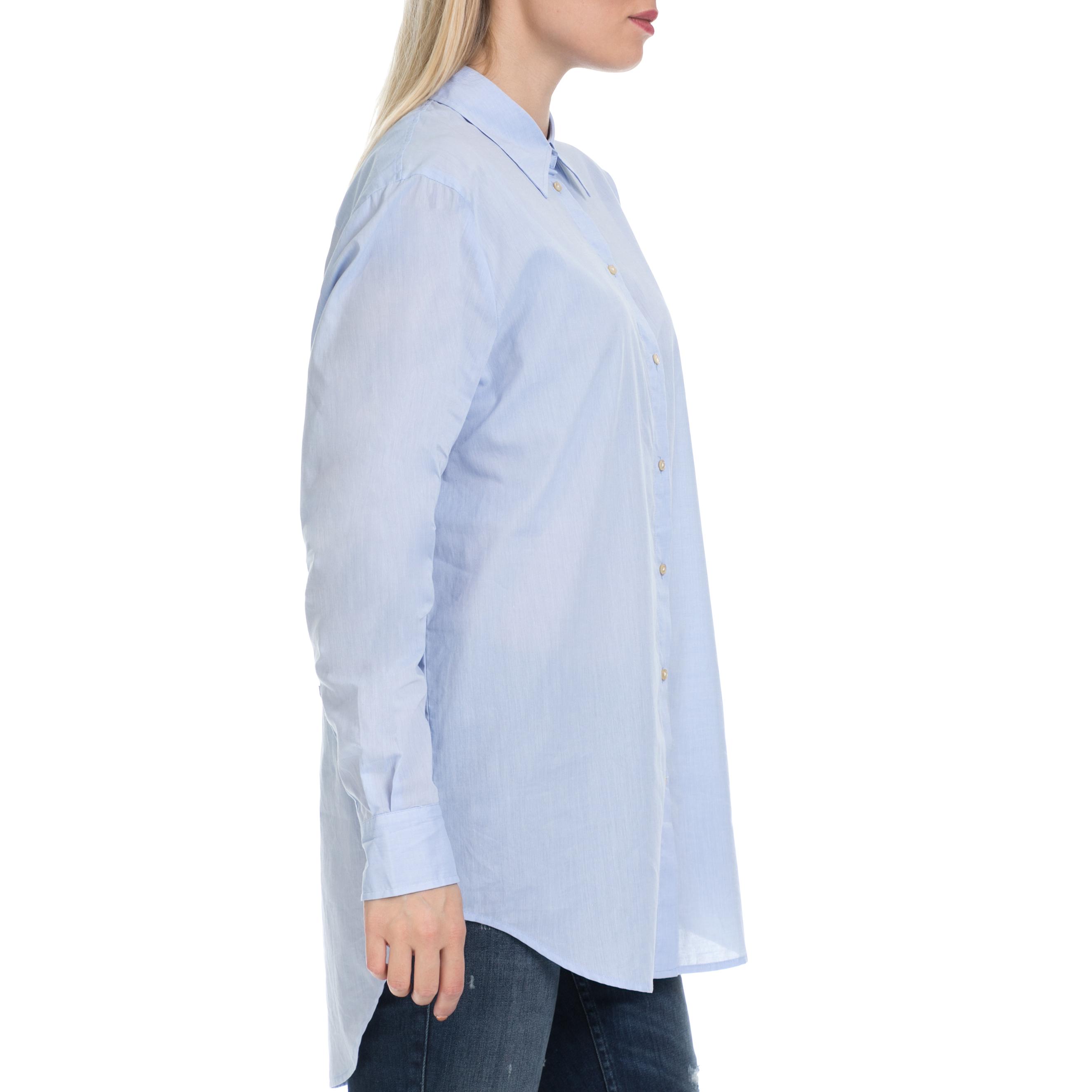 67d6b76dbc2d SCOTCH   SODA - Γυναικείο πουκάμισο MAISON SCOTCH μπλε