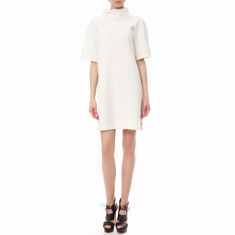 SCOTCH & SODA - Γυναικείο πουλόβερ Maison Scotch εκρού γυναικεία ρούχα φορέματα μίνι