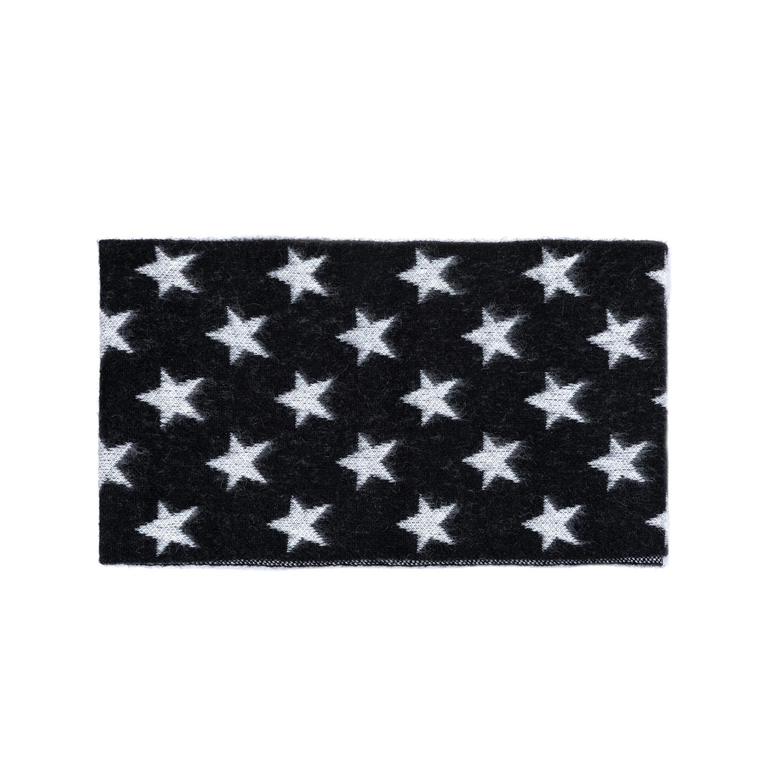 SCOTCH & SODA - Γυναικείο κασκόλ MAISON SCOTCH ασπρόμαυρο γυναικεία αξεσουάρ φουλάρια κασκόλ γάντια