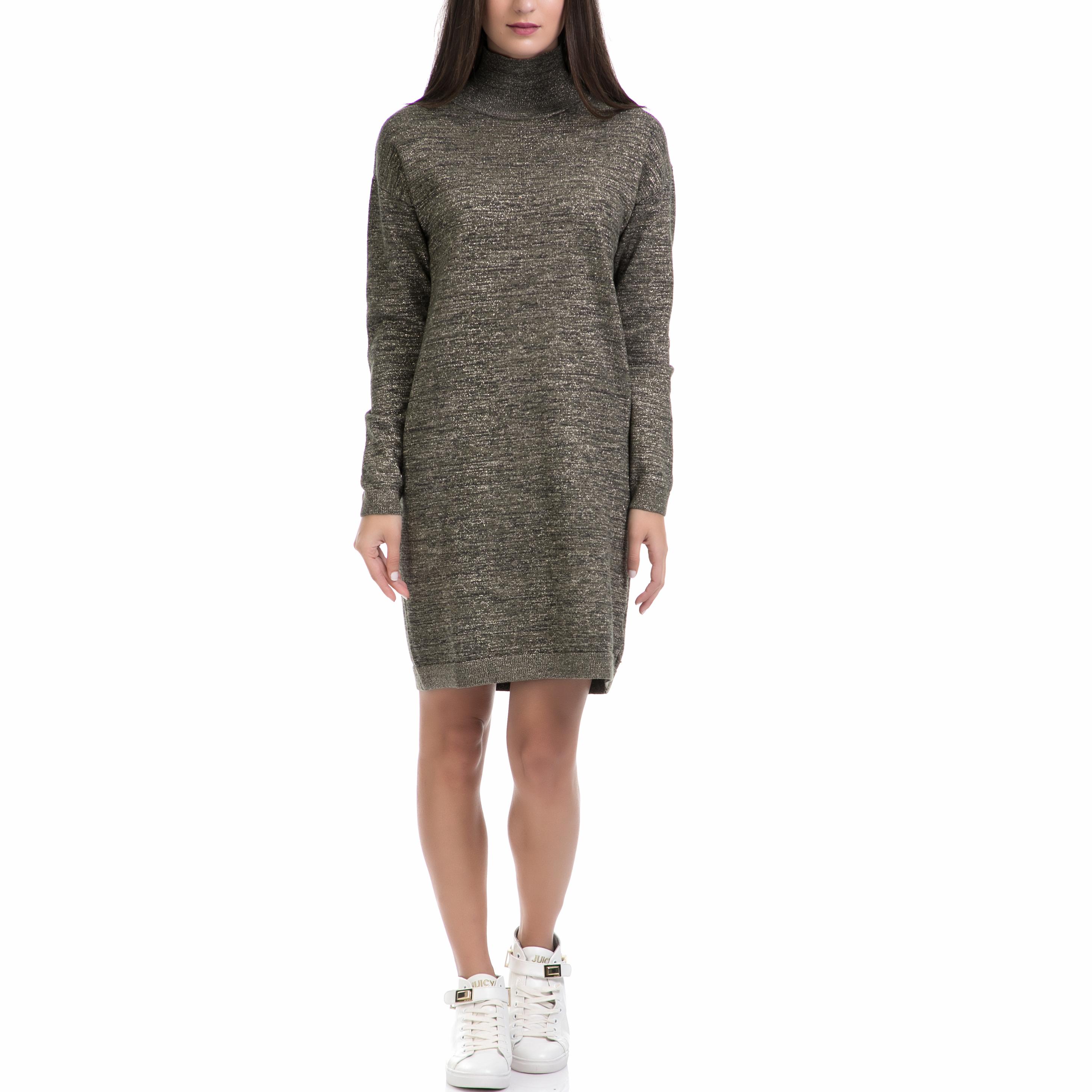 SCOTCH & SODA - Γυναικείο φόρεμα MAISON SCOTCH λαδί γυναικεία ρούχα φορέματα μίνι