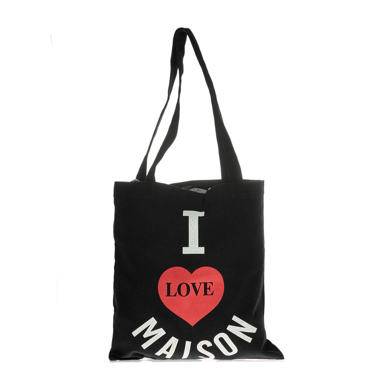 SCOTCH & SODA - Γυναικεία shopper bag SCOTCH & SODA μαύρη γυναικεία αξεσουάρ τσάντες σακίδια ωμου