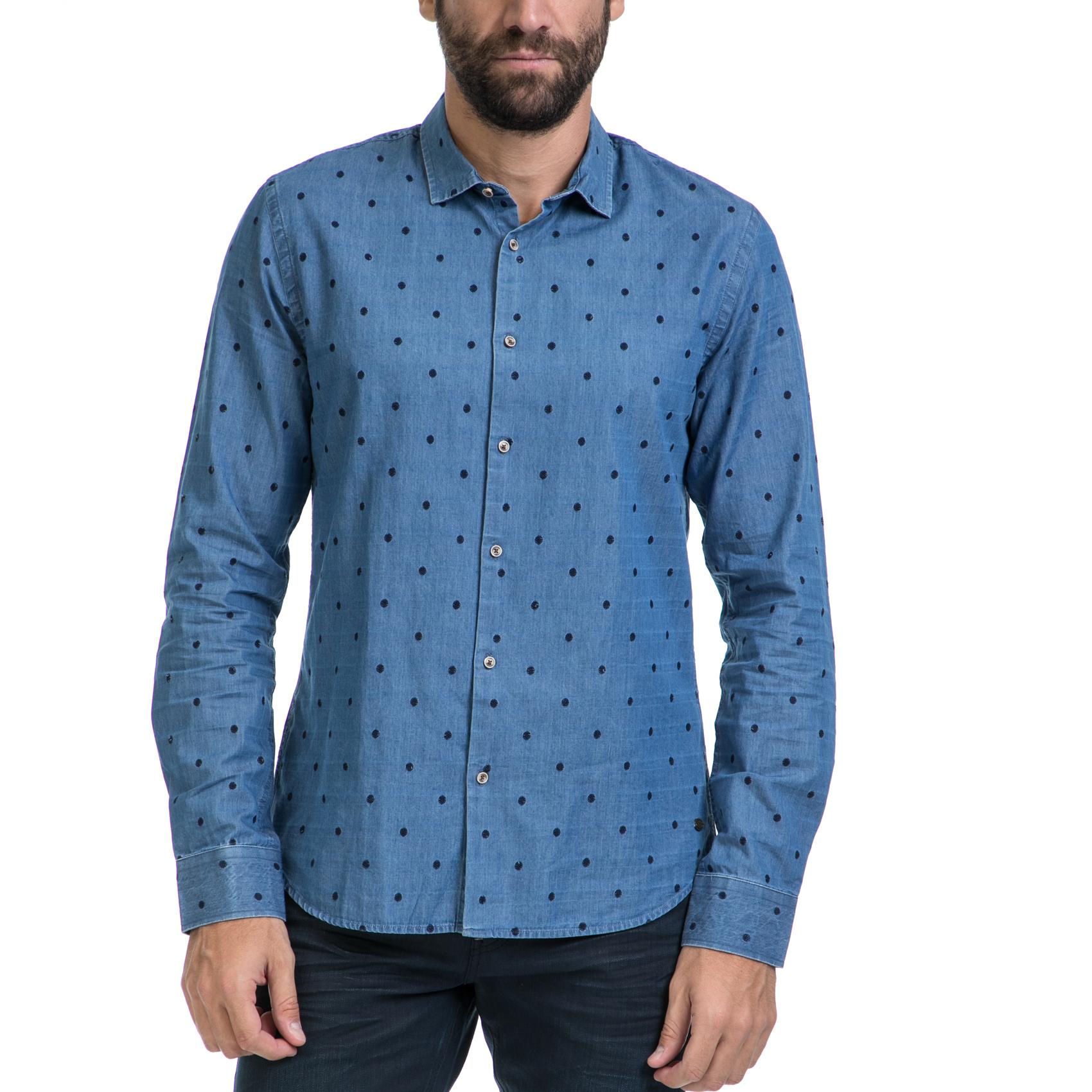 79bbc15d3ef6 SCOTCH   SODA – Ανδρικό πουκάμισο SCOTCH   SODA μπλε – Online Ρούχα