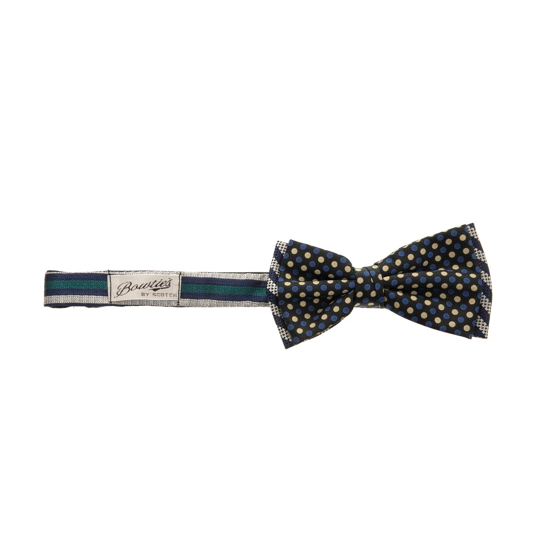 SCOTCH & SODA - Παπιγιόν SCOTCH & SODA με πουά μοτίβο ανδρικά αξεσουάρ γραβάτες παπιγιόν