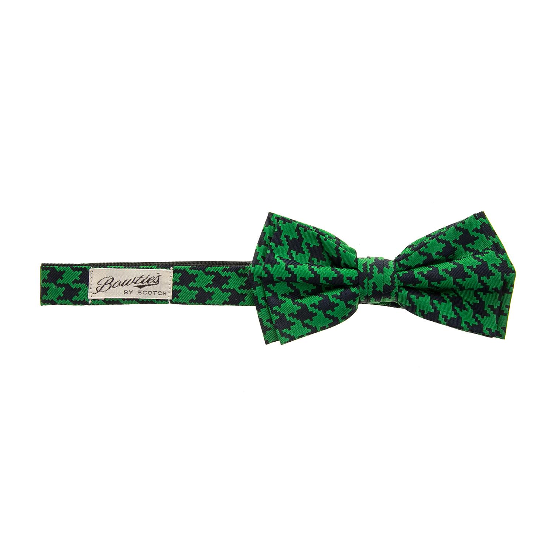 SCOTCH & SODA - Ανδρικό παπιγιόν SCOTCH & SODA με retro μοτίβο ανδρικά αξεσουάρ γραβάτες παπιγιόν