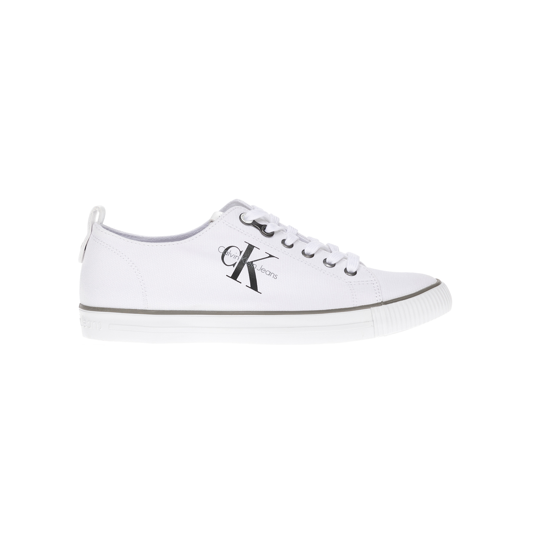 CALVIN KLEIN JEANS – Αντρικά παπούτσια CALVIN KLEIN JEANS άσπρα