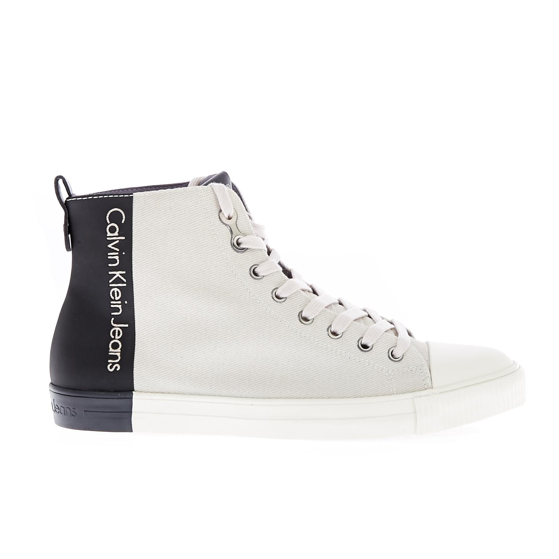 CALVIN KLEIN JEANS – Ανδρικά sneakers CALVIN KLEIN JEANS ARNAUD λευκά cdb0af817f2