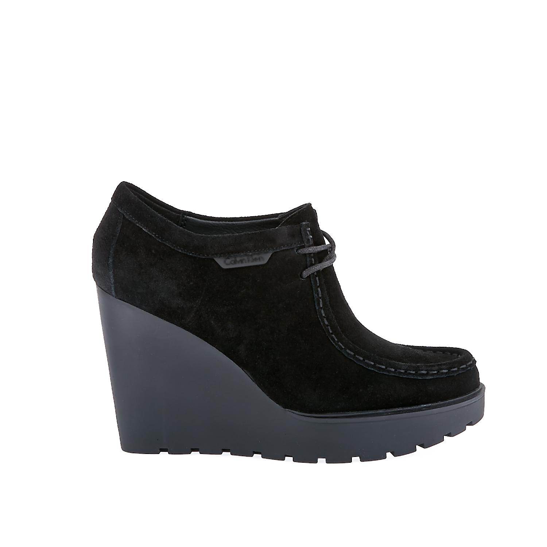 CALVIN KLEIN JEANS – Γυναικεία μποτάκια Calvin Klein Jeans μαύρα