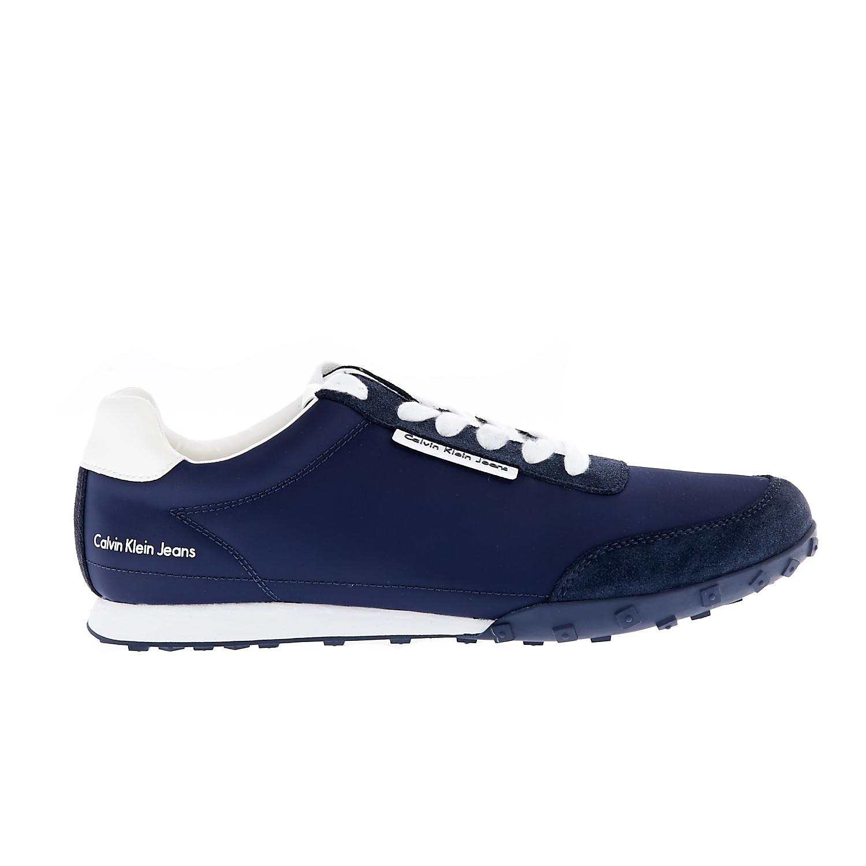 CALVIN KLEIN JEANS – Ανδρικά sneakers CALVIN KLEIN JEANS NASH μπλε