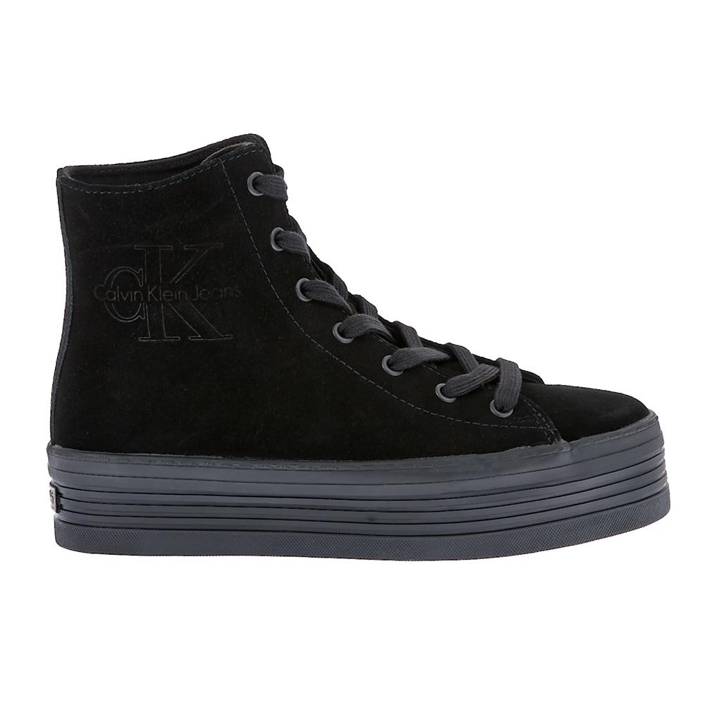 CALVIN KLEIN JEANS - Γυναικεία sneakers Calvin Klein Jeans μαύρα γυναικεία παπούτσια sneakers