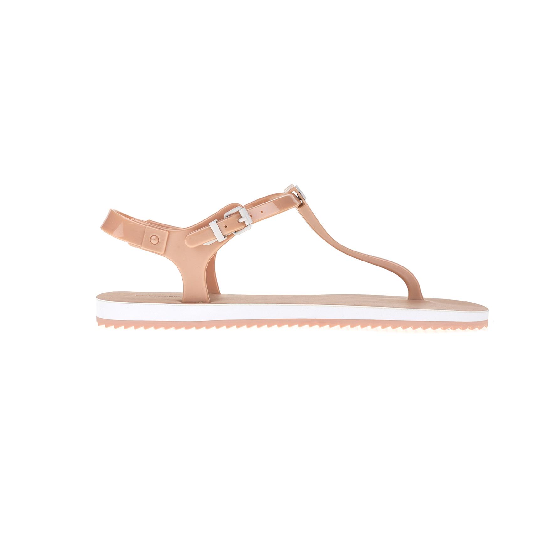 CALVIN KLEIN JEANS – Γυναικεία σανδάλια CALVIN KLEIN JEANS ροζ