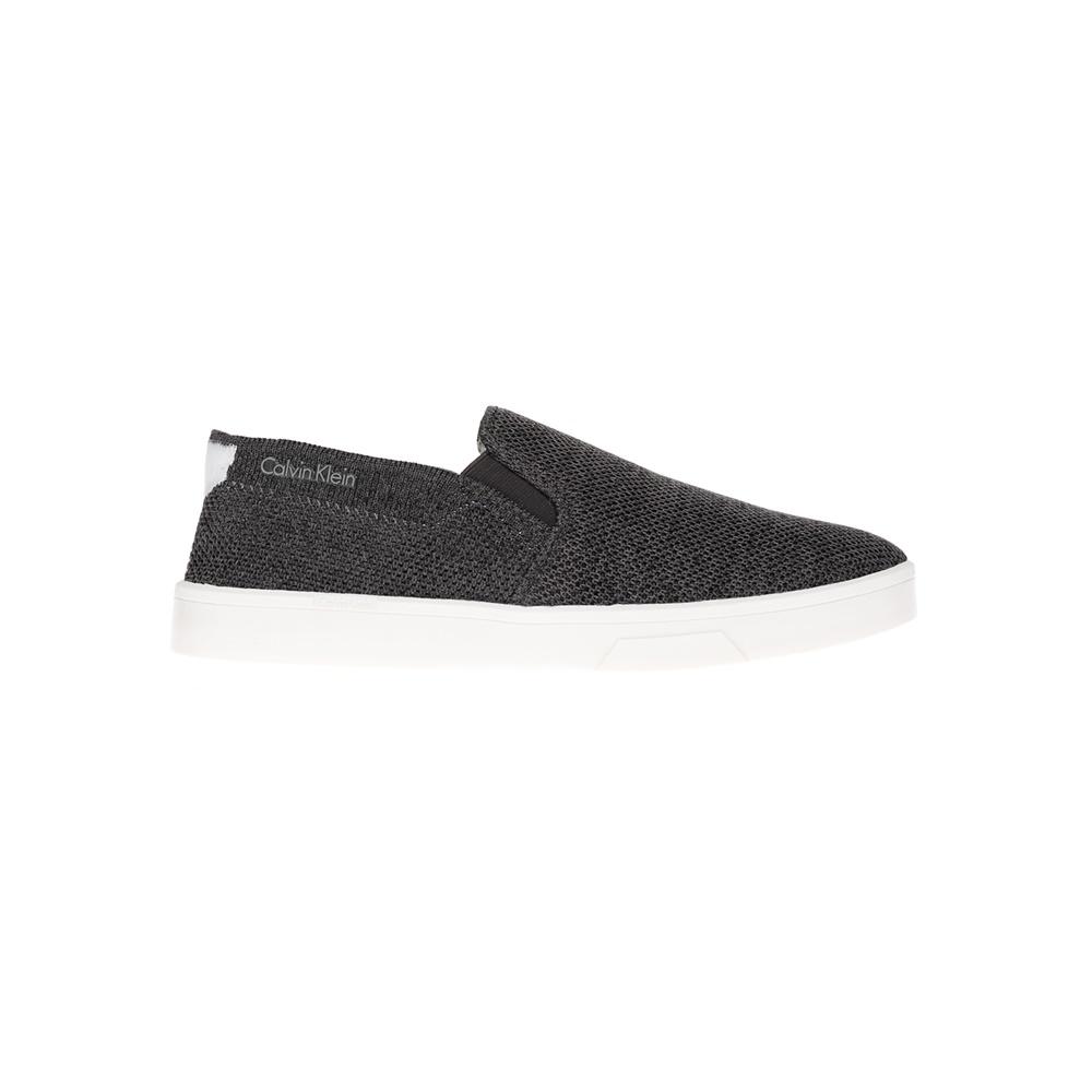 CALVIN KLEIN JEANS – Γυναικεία slip-on παπούτσια CALVIN KLEIN JEANS γκρι