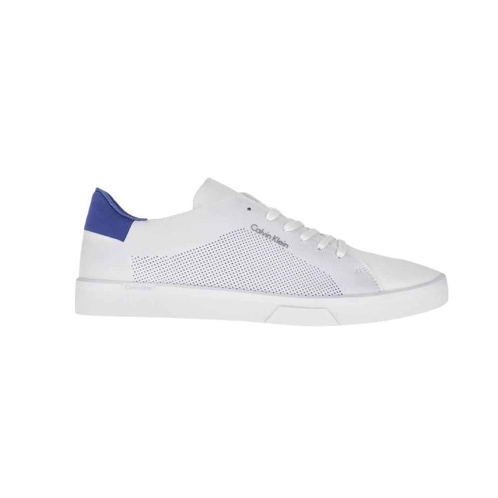 CALVIN KLEIN JEANS – Ανδρικά sneakers CALVIN KLEIN JEANS λευκά
