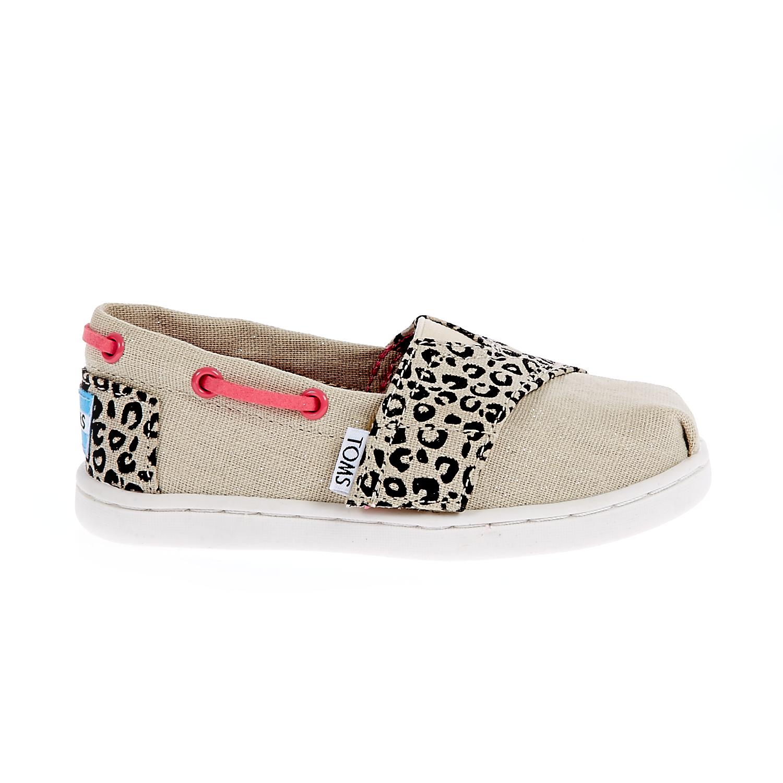TOMS - Παιδικές εσπαντρίγιες TOMS μπεζ παιδικά girls παπούτσια εσπαντρίγιες slip on