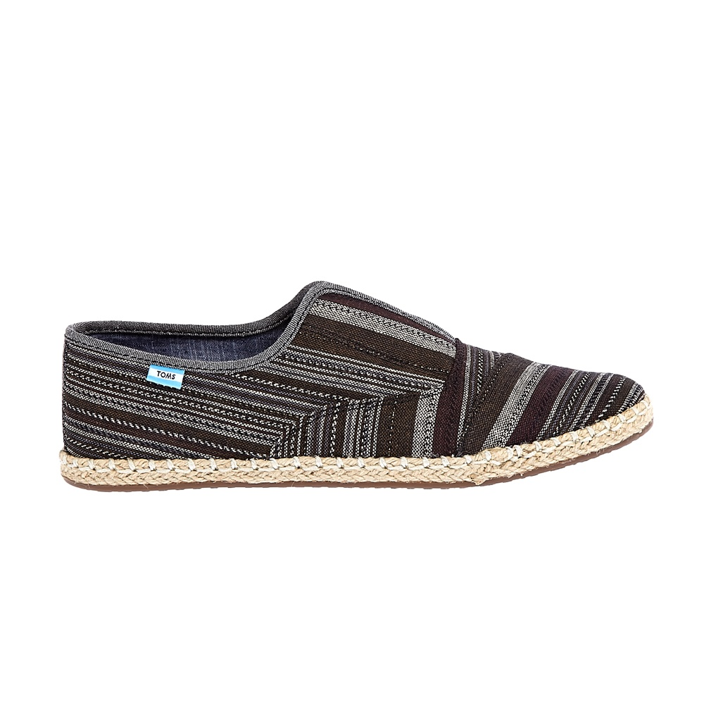 f5c95a2628 -37% Factory Outlet TOMS – Γυναικεία slip-on παπούτσια TOMS μαύρα-γκρι