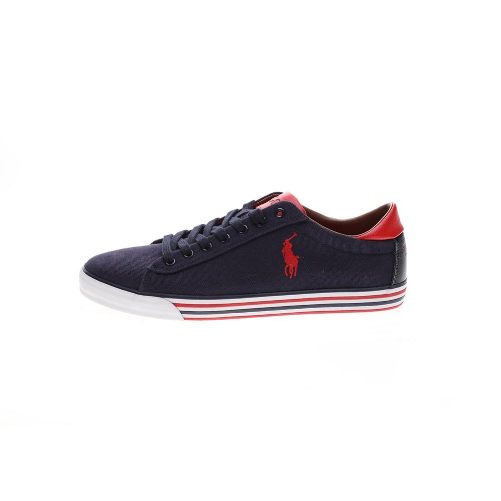 RALPH LAUREN – Ανδρικά παπούτσια sneakers RALPH LAUREN HARVEY-NE μπλε κόκκινα