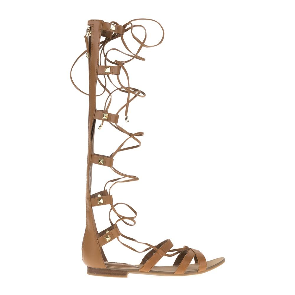 GUESS - Γυναικεία σανδάλια Guess καφέ ⋆ EliteShoes.gr 088e19f7112