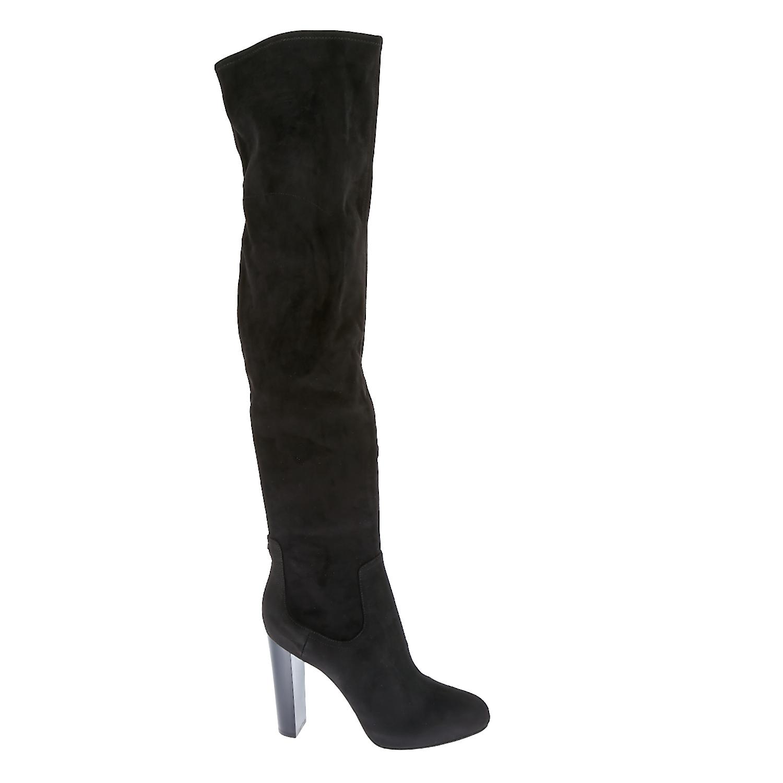 GUESS - Γυναικείες μπότες Guess μαύρες γυναικεία παπούτσια μπότες μποτάκια μπότες