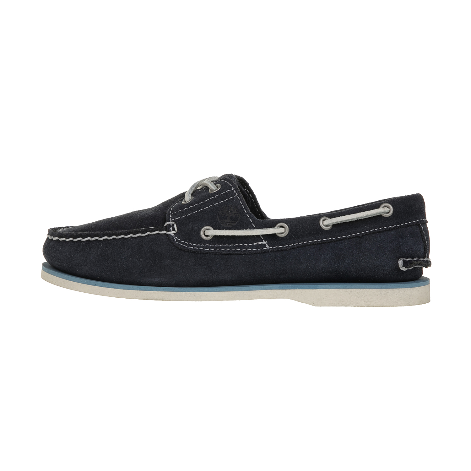 TIMBERLAND - Ανδρικά boat shoes TIMBERLAND CLASSIC 2 EYE BOAT μπλε σκούρα ανδρικά παπούτσια boat shoes