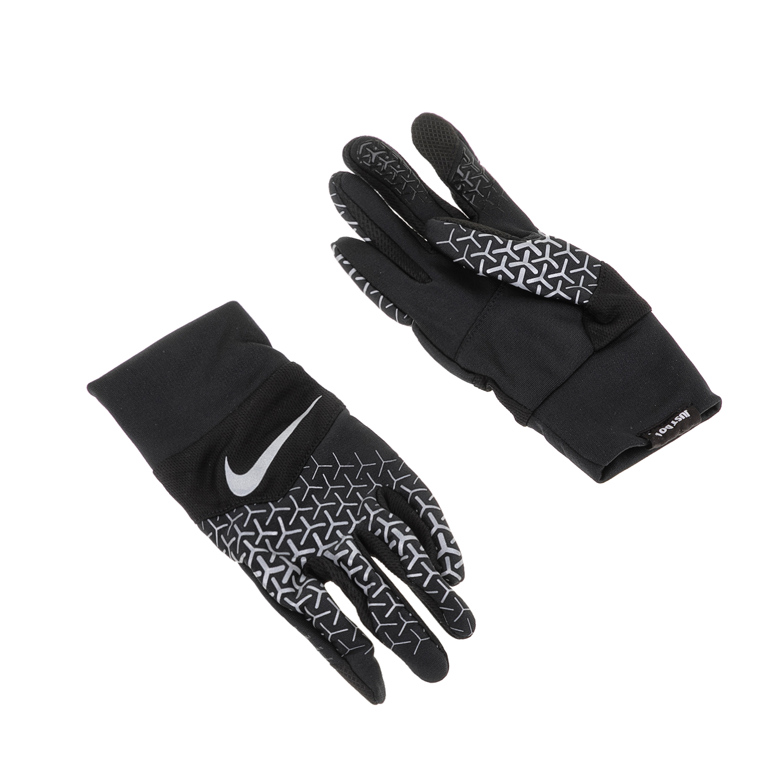 NIKE ACCESSORIES - Γάντια για τρέξιμο N.RG.F7.SL DRI-FIT TEMPO 360 RUN μαύρα-λευ γυναικεία αξεσουάρ αθλητικά είδη εξοπλισμός