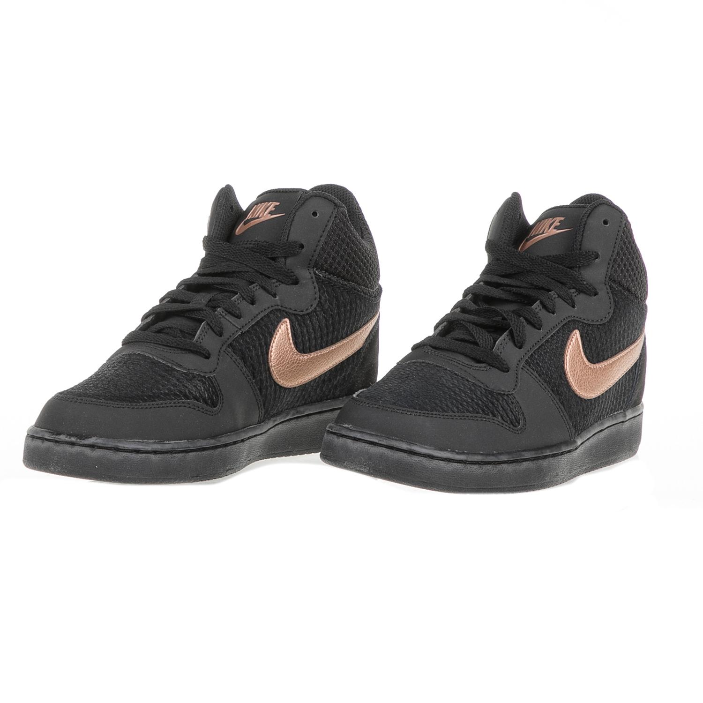 NIKE - Γυναικεία αθλητικά παπούτσια NIKE COURT BOROUGH MID PREM μαύρα d33b69a9619