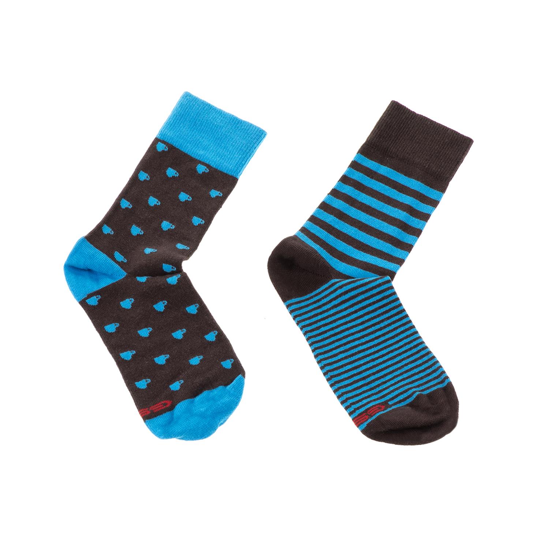 GSA - Ανδρικό σετ κάλτσες GSA μπλε-μαύρο ανδρικά αξεσουάρ κάλτσες