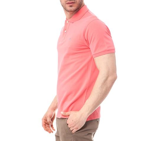 d24be28eda60 Ανδρική μπλούζα Gant ροζ-σομών (1495882.0-0387)