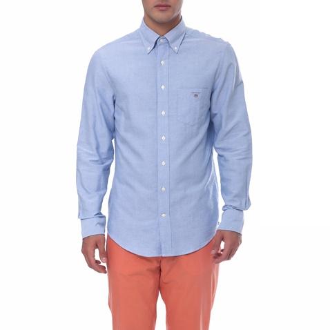 4a487bbfb179 Ανδρικό πουκάμισο Gant μπλε (1495884.0-0617)