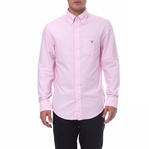 ef83359aff75 Ανδρικό πουκάμισο Gant ροζ (1495884.0-0623)