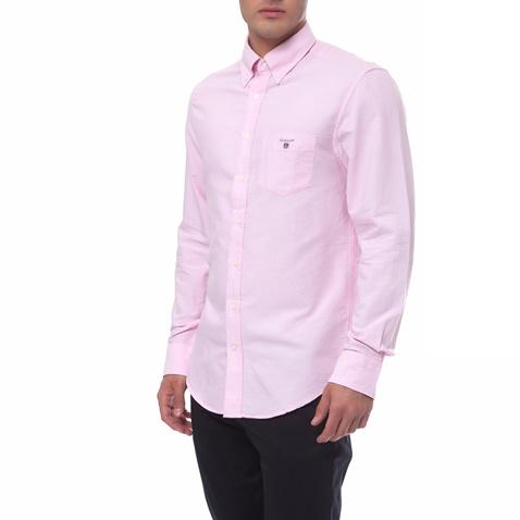 Ανδρικό πουκάμισο Gant ροζ (1495884.0-0623)  5ef5698bc36