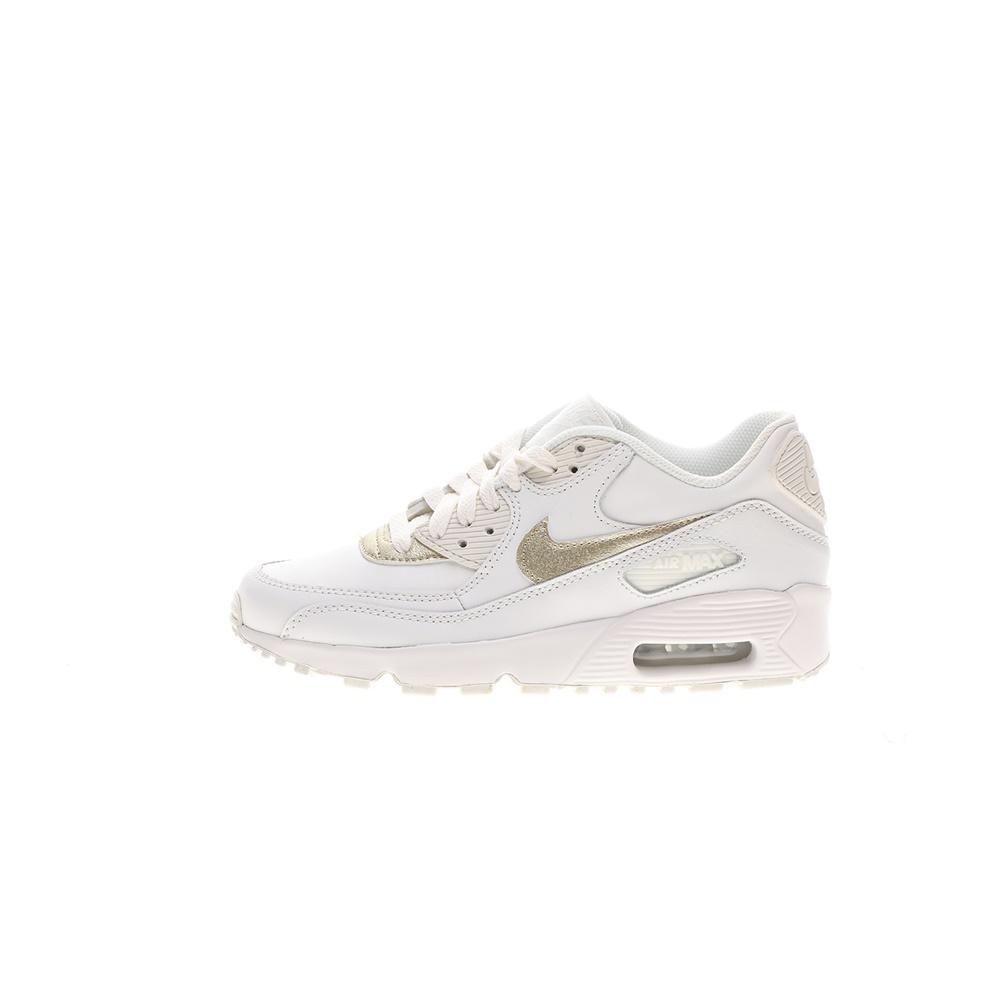 NIKE – Παιδικά παπούτσια NIKE AIR MAX 90 LTR (GS) λευκά χρυσά