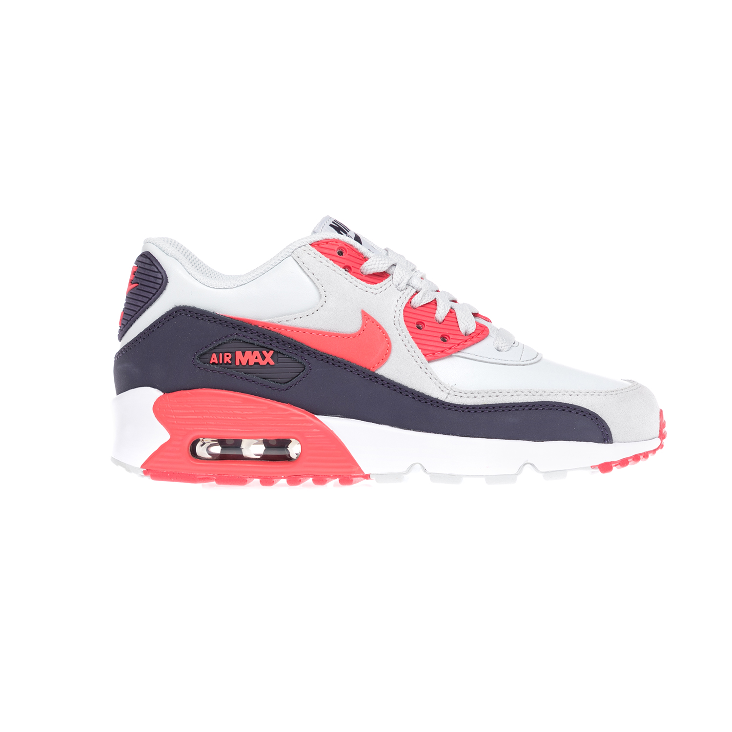 NIKE - Παιδικά παπούτσια NIKE AIR MAX 90 LTR (GS) άσπρα-μπλε