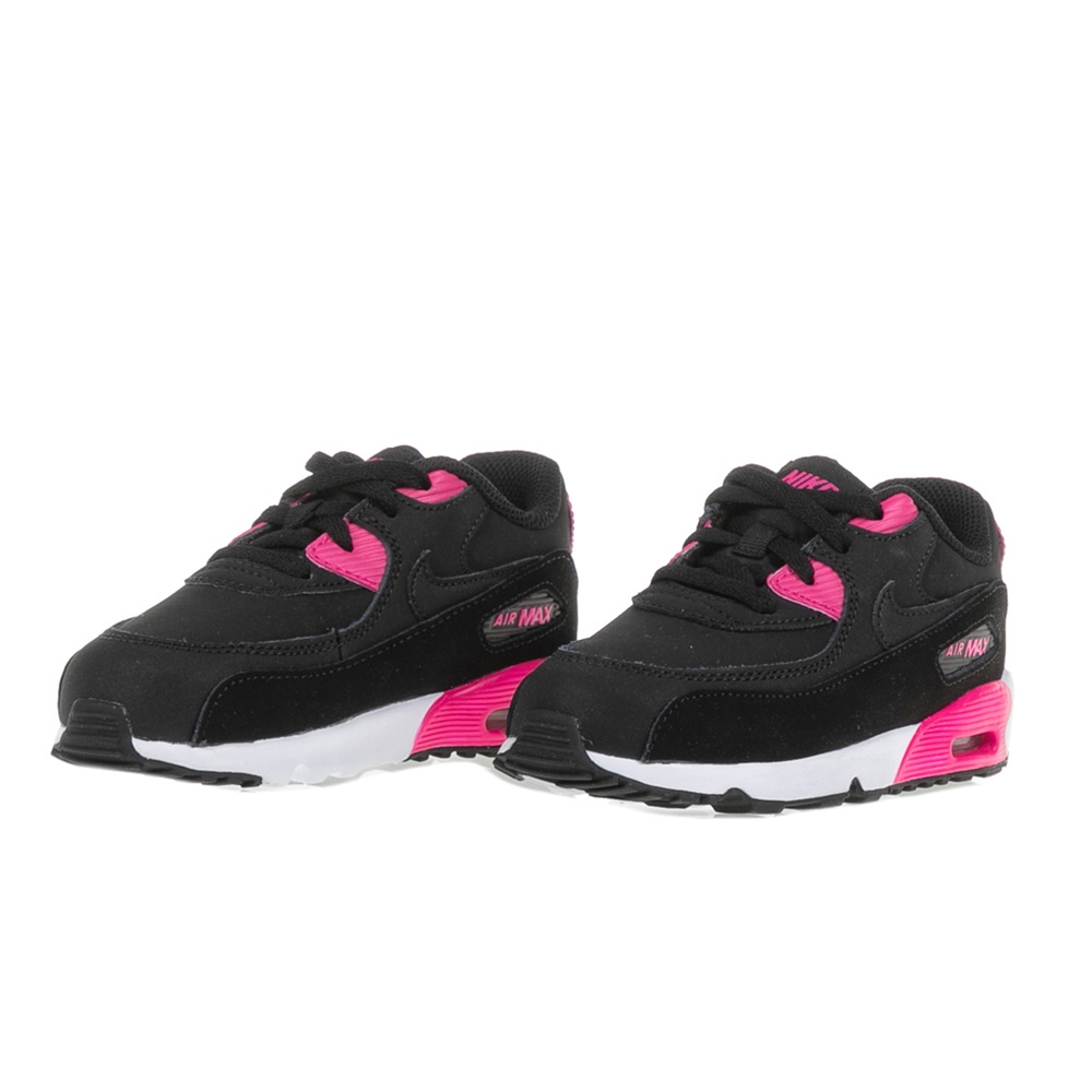 a2fe3bcd93e NIKE - Βρεφικά αθλητικά παπούτσια NIKE AIR MAX 90 LTR (TD) μαύρα-ροζ,  Βρεφικά αθλητικά παπούτσια, ΠΑΙΔΙ | ΠΑΠΟΥΤΣΙΑ | ΒΡΕΦΙΚΑ
