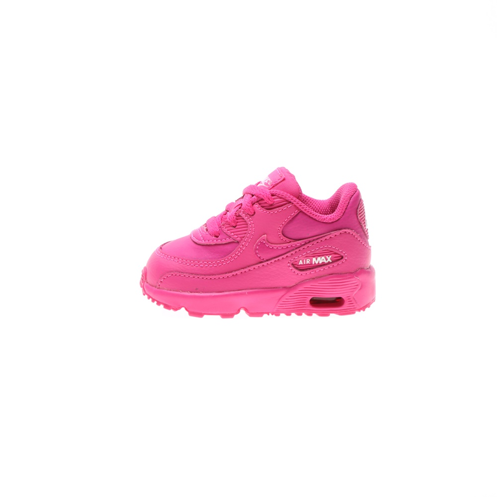 NIKE – Βρεφικά αθλητικά παπούτσια NIKE AIR MAX 90 LTR (TD) φούξια
