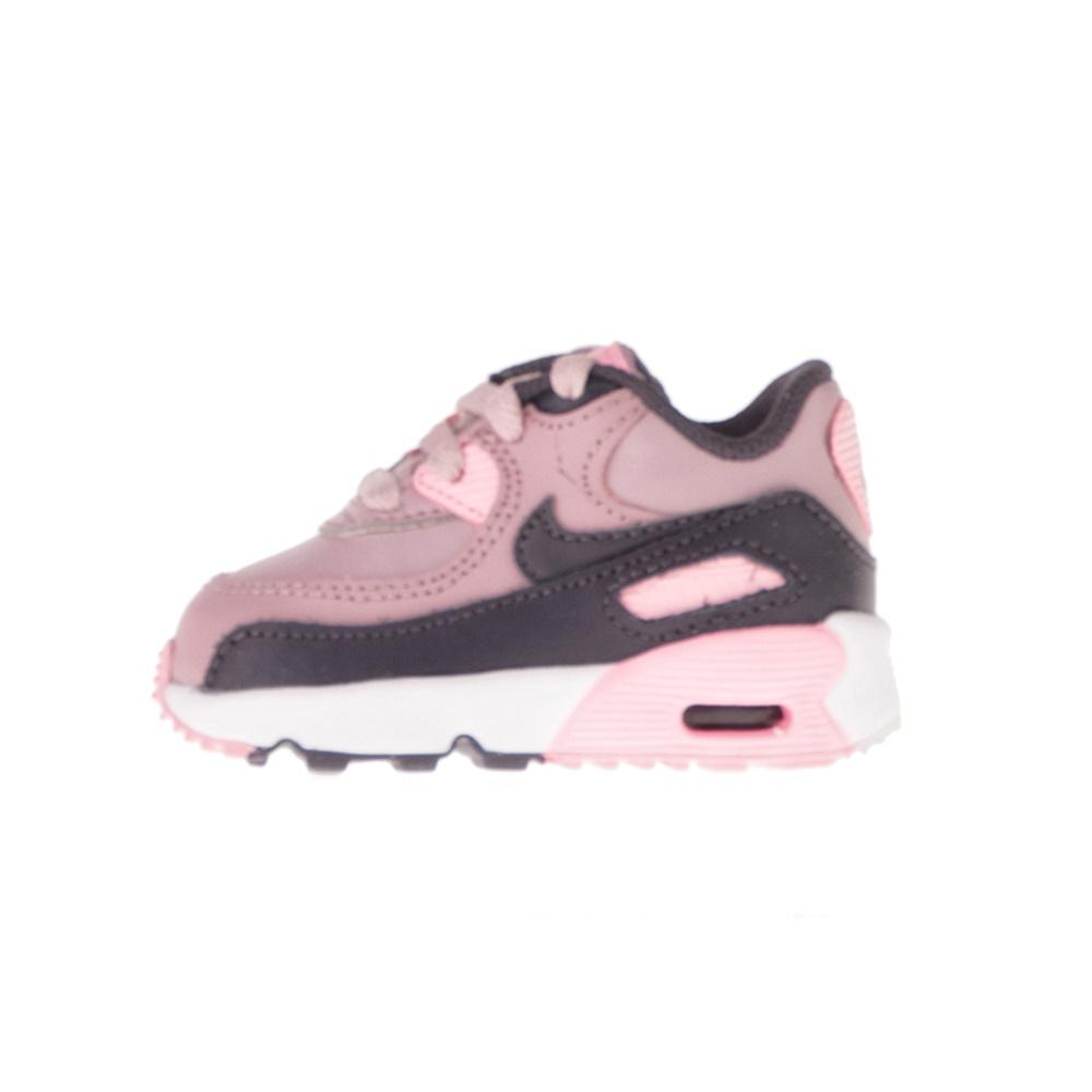 NIKE – Βρεφικά αθλητικά παπούτσια NIKE AIR MAX 90 LTR (TD) ροζ