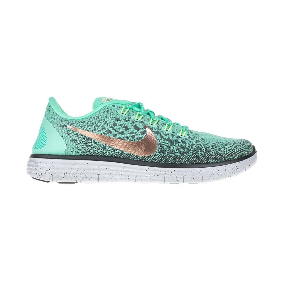 NIKE - Γυναικεία αθλητικά παπούτσια NIKE FREE RN DISTANCE πράσινα