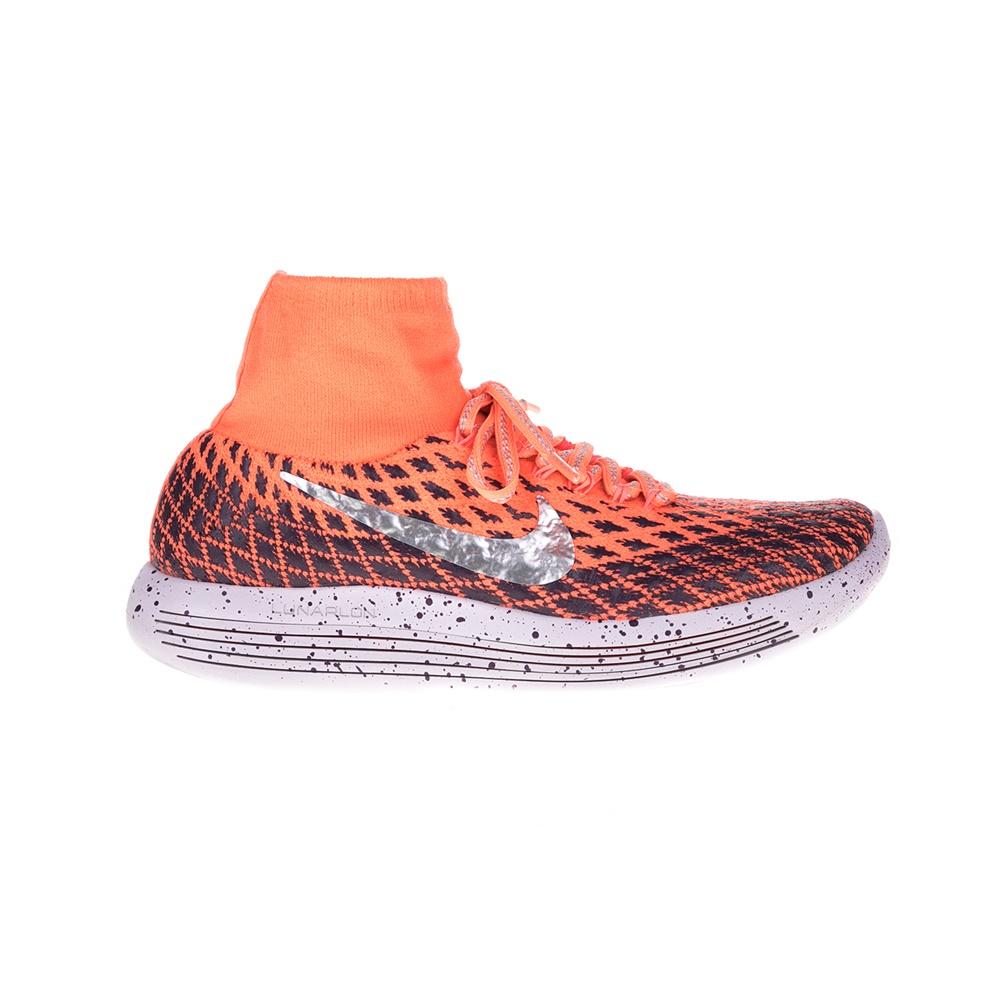1dda0f83a73 NIKE - Γυναικεία παπούτσια NIKE LUNAREPIC FLYKNIT SHIELD πορτοκαλί ...