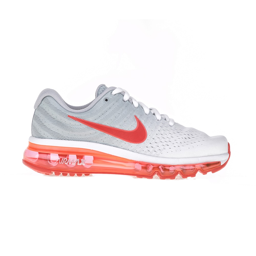 5447edc5647 NIKE – Παιδικά αθλητικά παπούτσια NIKE AIR MAX 2017 (GS) λευκά – πορτοκαλί.  Factoryoutlet
