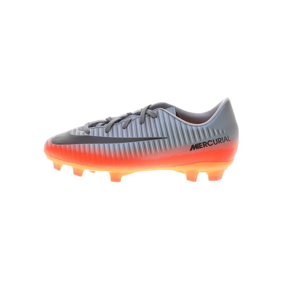 NIKE – Παιδικά παπούτσια ποδοσφαίρου NIKE JR MERCURIAL VICTORY VI CR7 FG γκρι