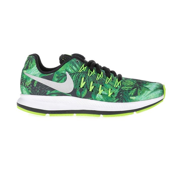 NIKE. Παιδικά αθλητικά παπούτσια NIKE ZOOM PEGASUS 33 PRINT (GS) πράσινα d8299cb6894