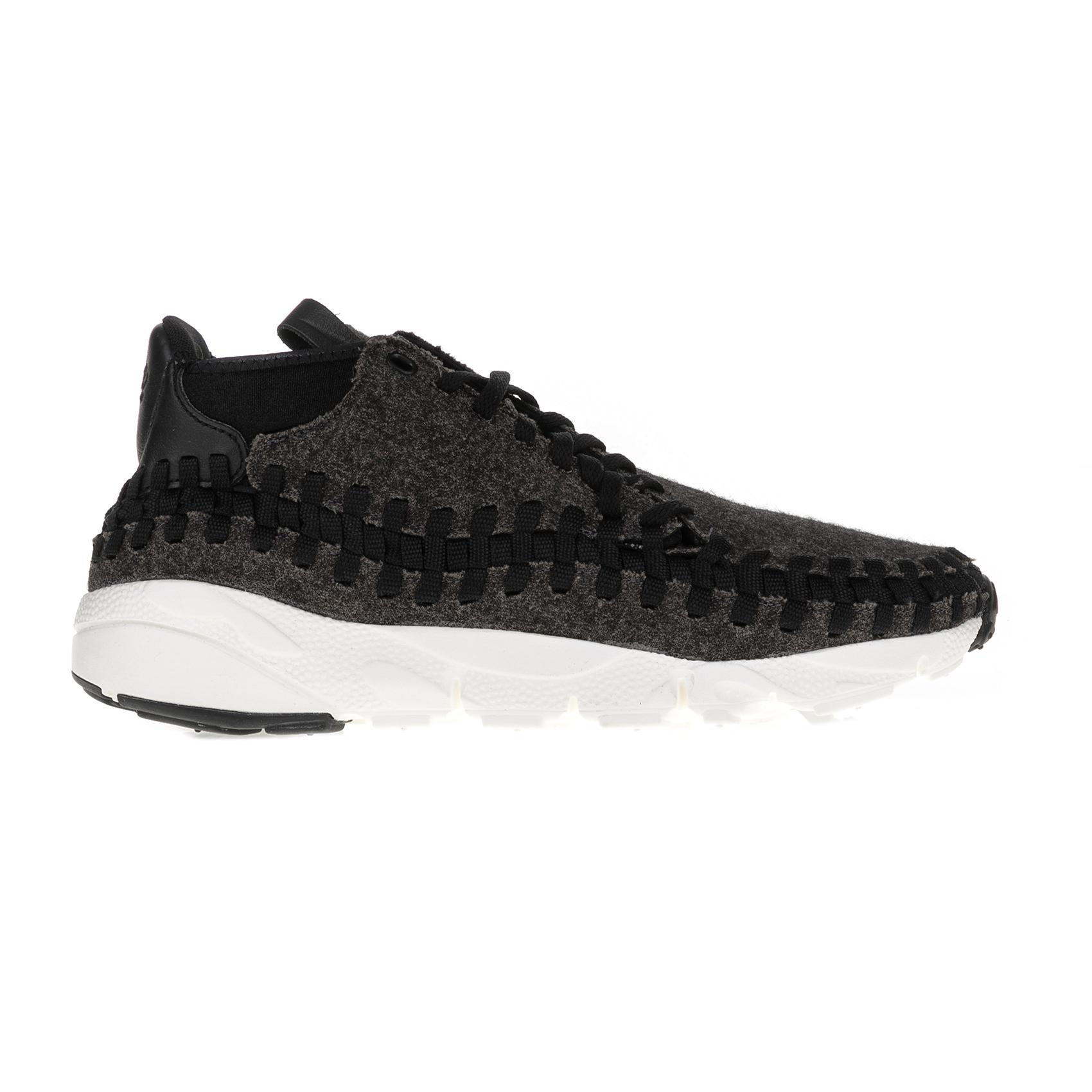 NIKE - Ανδρικά παπούτσια AIR FOOTSCAPE WOVEN CHUKKA μαύρα ανδρικά παπούτσια αθλητικά running