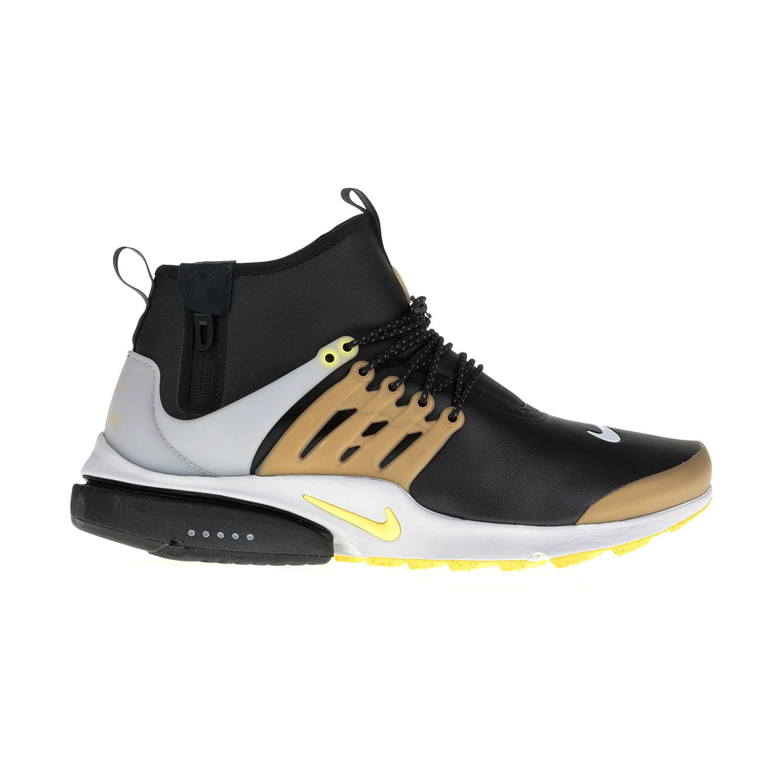 NIKE – Ανδρικά αθλητικά παπούτσια AIR PRESTO MID UTILITY μαύρα-χρυσά