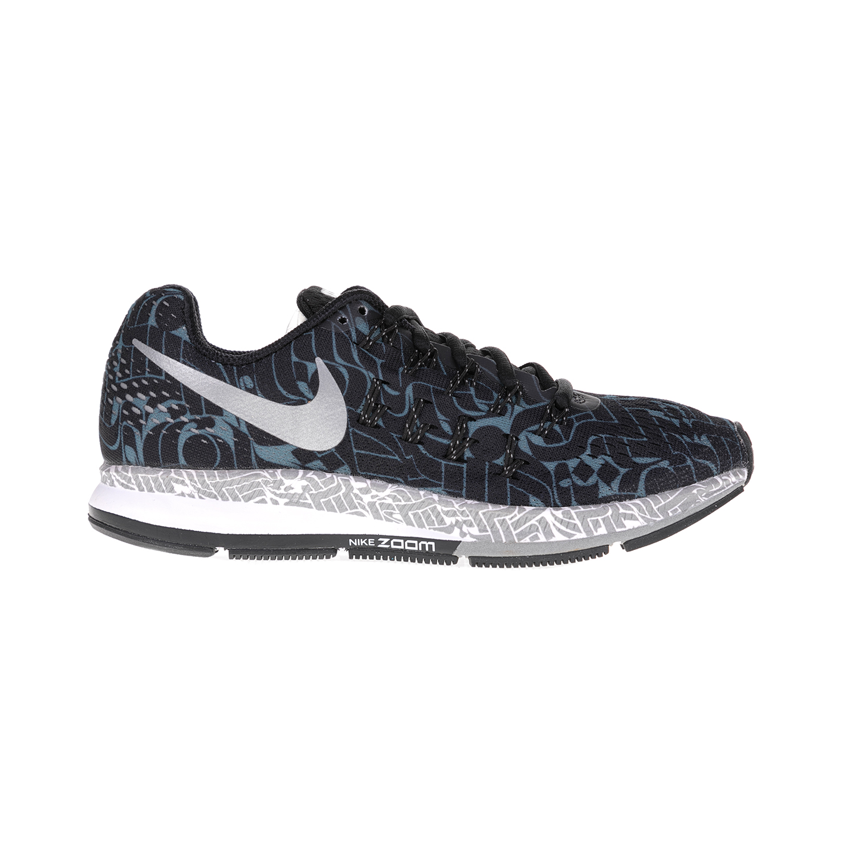 online store 0c44b 566f6 NIKE – Γυναικεία παπούτσια NIKE AIR ZOOM PEGASUS 33 ROSTARR ασημί-μάυρα